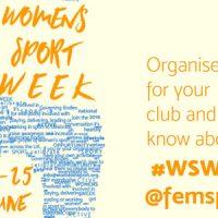 Women's Sport Week- June 19-25 2017