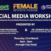 Social Media Workshop – Venue Change
