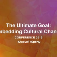 The Ultimate Goal: Embedding Cultural Change