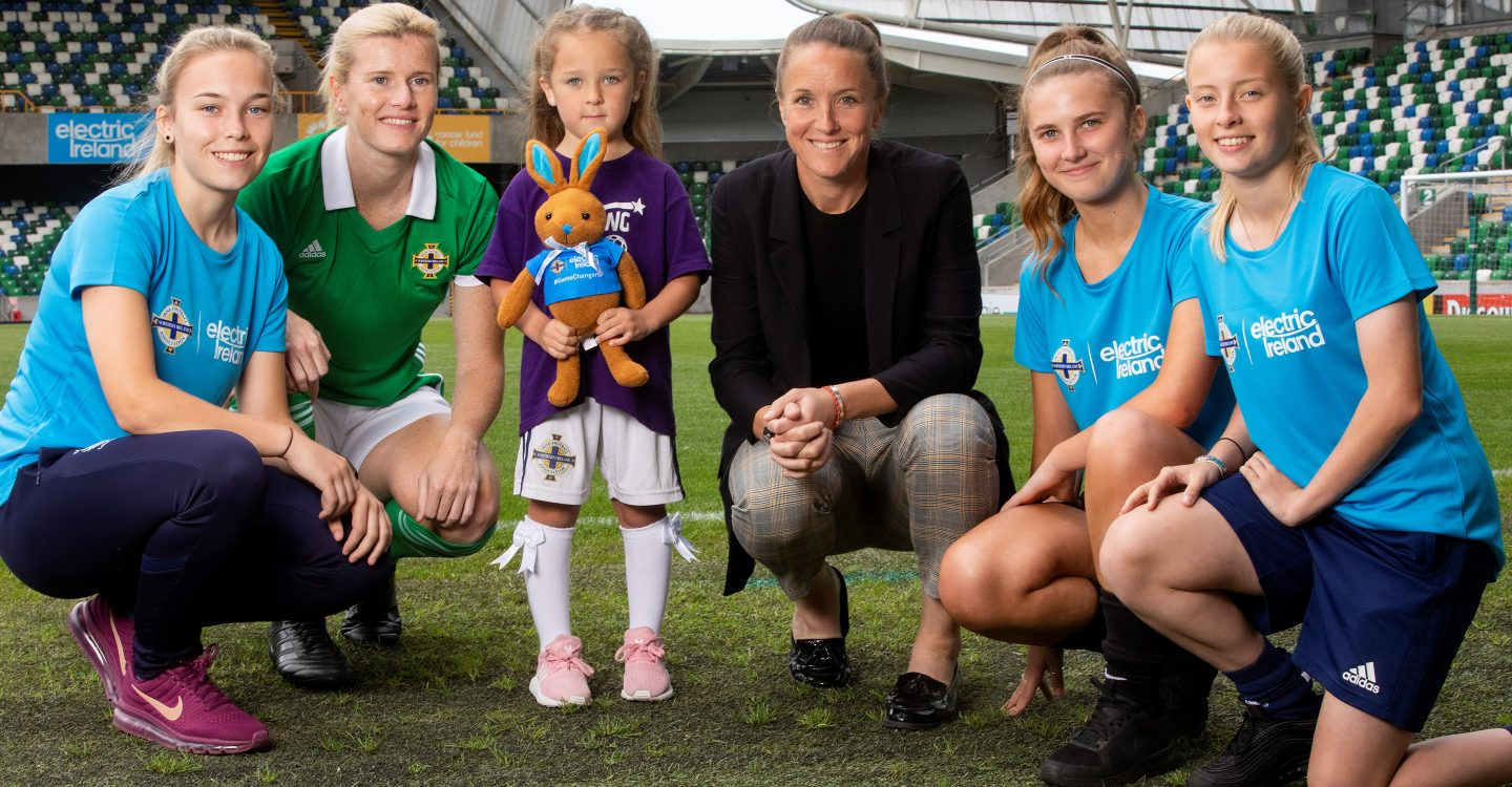 Electric Ireland extends its support for girls' and women's football in Northern Ireland