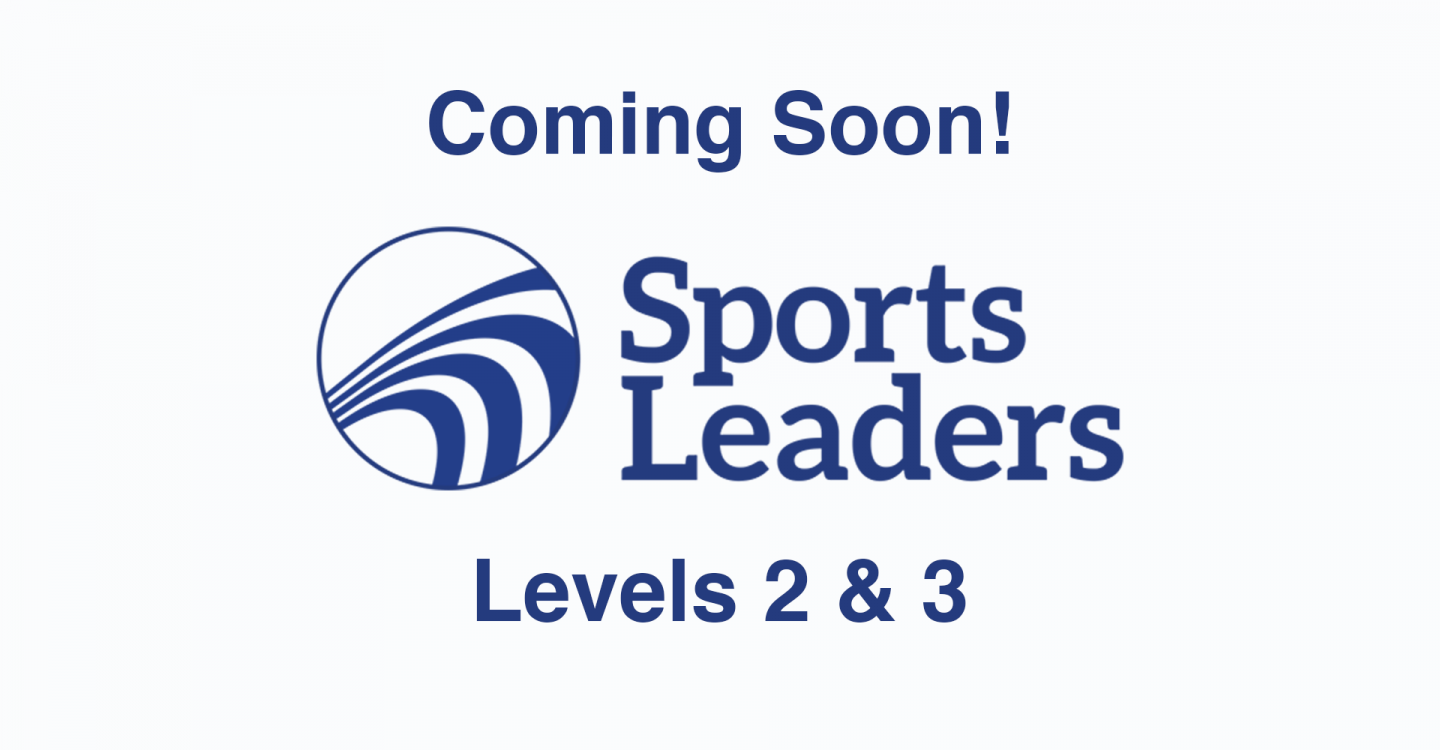 Sports Leaders UK Level 2 and Level 3 Qualifications