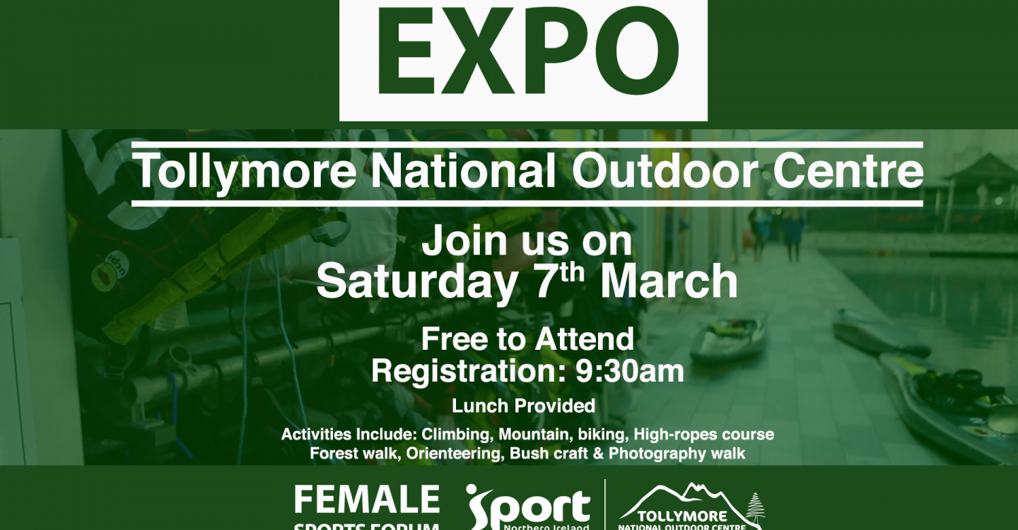 EXPO Day of Adventure at Tollymore National Outdoors Centre
